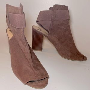 10 PENNY LOVES KENNY Open toe boots booties pink